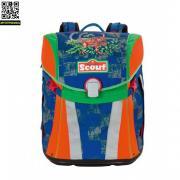 Ранец Scout Sunny BASIC с наполнением 4 предмета Scout Тиранозавр