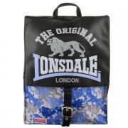 """Рюкзак Kinderline """"Lonsdale"""", цвет: черный, голубой, серый"""