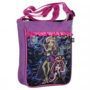 "Сумка-планшет ""Monster High"", цвет: розовый, фиолетовый. 85303"