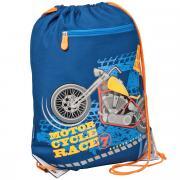Erich Krause Сумка для сменной обуви Motorcycle цвет темно-синий...