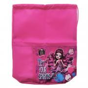 Hatber Сумка для сменной обуви Школа Монстров цвет розовый