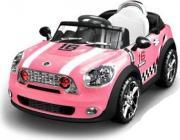 Электромобили Электромобиль Mini Cooper Розовый, Sundays JE118 [JE118]