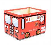 House & Holder Коробка для хранения Fire Truck цвет красный 38 см х 30...