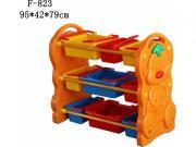 Ящики для игрушек Family Этажерка для игрушек Vasia F-823 [F-823]