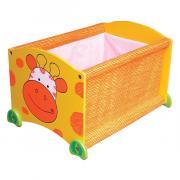 Ящик для игрушек с мягкими бортами