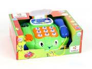 Каталка Joy Toy Телефон на колесах, со светом и звуком 7068