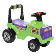 """Детский трактор-каталка """"Митя"""", цвет: салатовый"""