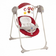 Качели Chicco Polli Swing Up red