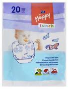 """Одноразовые нагрудники Bella Baby Happy """"Lunch"""", с карманом, 20 шт"""