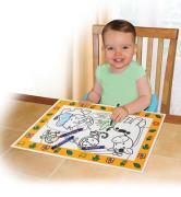 Накладка Накладка-раскраска на стол Summer Infant Keep Me Clean