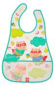 Нагрудник на липучке Happy Baby Waterproof Baby Bib Mint