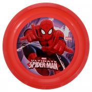 """Тарелка Marvel """"Spider-Man"""", цвет: красный, 21.5 см"""