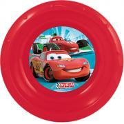 """Disney Миска детская """"Cars"""", цвет: красный, диаметр 16 см"""