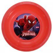 """Миска Marvel """"Spider-Man"""", цвет: красный, 16 см"""