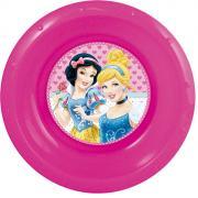 """Disney Миска детская """"Princess"""", цвет: розовый, диаметр 16 см"""