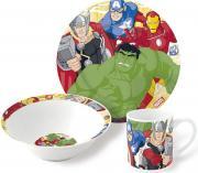 Marvel Набор детской посуды Мстители 3 предмета