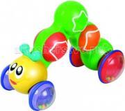 Развивающая игрушка Unimax Гусеница нажми, чтобы ехать