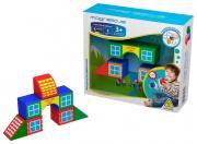 Игрушка Magneticus Кубики - домики BLO-001-3
