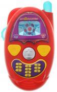 ABtoys Музыкальная игрушка Веселый телефон цвет красный