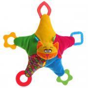 Bondibon Мягкая развивающая игрушка Кот 32 см
