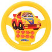 Junfa Toys Развивающая игрушка Руль цвет желтый красный
