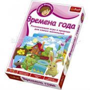 Trefl Настольная игра для малышей Первые открытия Времена года
