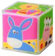 BabyOno Игрушка-кубик Животные