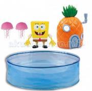 Интерактивная игрушка Zuru Набор Спанч Боб с аквариумом и домиком