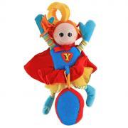 """Развивающая игрушка-подвеска """"Супер человек"""", от 0 месяцев"""