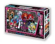 Monster High Школа Монстров Пазл, 500 элементов. В чемоданчике