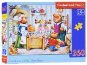 Castorland Пазл Сказка Златовласка и три медведя