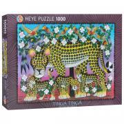 Семья леопардов. Пазл, 1000 элементов. 29427
