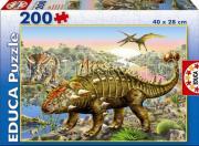 Educa Пазл Динозавры 200 деталей
