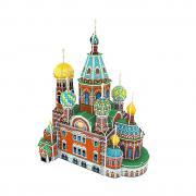 Товар для детей CubicFun 3D пазл Собор Воскресения Христова (Россия)