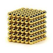 Неокуб (Neocube) Золотой 216 шариков (6 мм.)