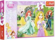Trefl Пазл Очаровательные принцессы