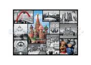 Trefl Пазл Москва-коллаж 1000 элементов