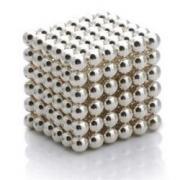 Неокуб (Neocube) Серебряный 216 шариков (5 мм.)