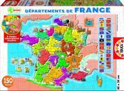 Educa Пазл Департаменты Франции 150 деталей