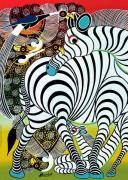 Зебра. Пазл, 1000 элементов