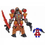 Transformers Констракт-Боты: Dinofire Grimlock & Optimus Prime