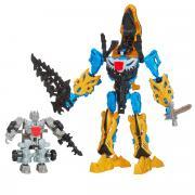 "Transformers Констракт-Боты: Silver Knight ""Optimus Prime & Grimlock"""
