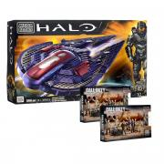Mega Bloks Halo Конструктор Звездный истребитель + подарок набор Call...