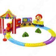 Конструктор деревянный Toys Lab «Цирковой поезд»
