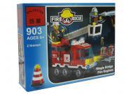 Игрушка Конструктор Enlighten Brick Пожарная машина с 2-мя фигурками...