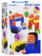 Miniland Конструктор Blocks Super City 1