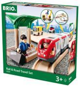 Brio Железная дорога с переездом