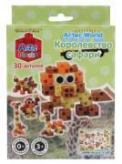 Конструктор-кубики Знаток Artec World «Королевство сафари», 30 деталей...
