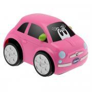 Chicco Машинка Fiat Turbo Touc 500 цвет розовый