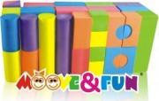 Детские конструкторы Moove and Fun Конструктор Moove&Fun мягкий...